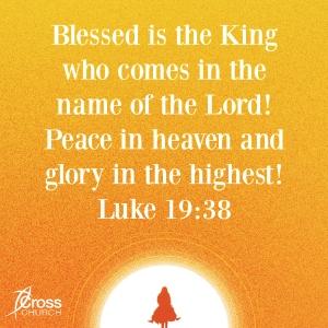 Luke 19.38