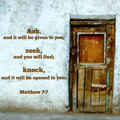 Matthew 7.7